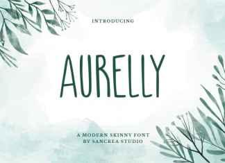 Aurelly Display Font