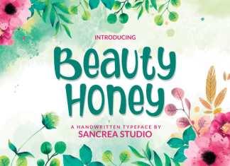 Beauty Honey Script Font