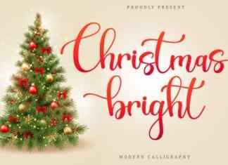 Christmas Bright Calligraphy Font