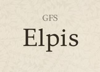 GFS Elpis Serif Font