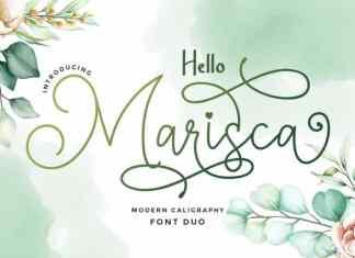 Hello Marisca Script Font