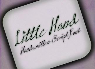 Little hands Handwritten Font