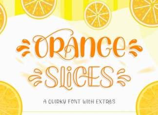 Orange Slices Script Font
