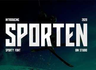 Sporten Display Font
