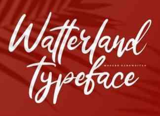 Watterland Script Font
