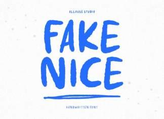 Fake Nice Display Font