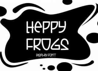 Heppy Frogs Display Font