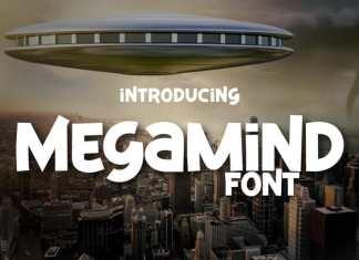 Megamind Display Font