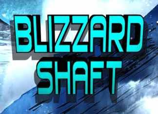 Blizzard Shaft Display Font
