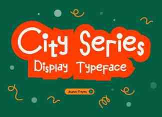 City Series Display Font