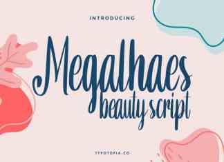 Megalhaes Beauty Script Font