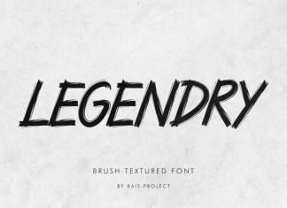LEGENDRY Brush Font