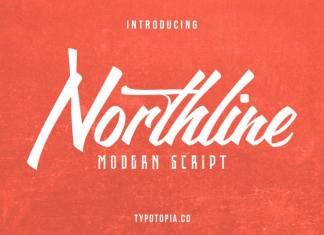 Northline Modern Script Font