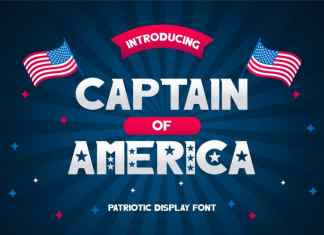 Captain of America Font