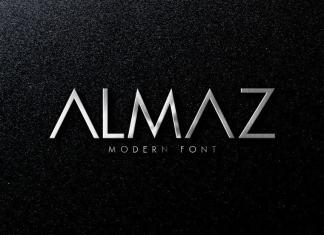 Almaz Display Font
