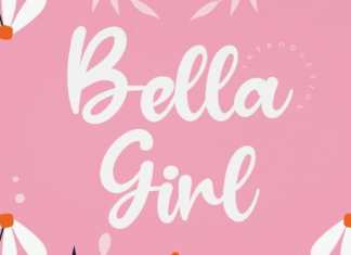 Bella Girl Script Font