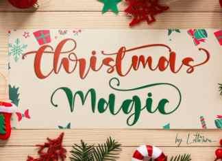 Christmas Magic Calligraphy Font
