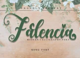 Falencia Script Font