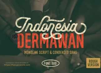 Indonesia Dermawan Display Font
