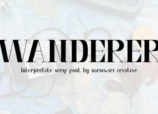 Interpretate Four Display Font