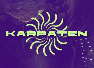 Karpaten Display Font