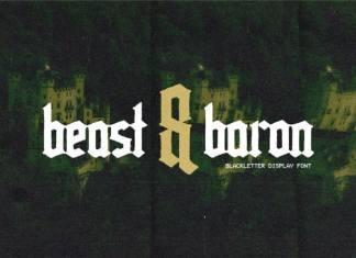Beast & Baron Blackletter Font