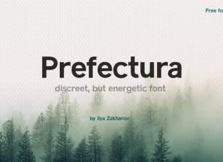 Prefectura Sans Serif Font