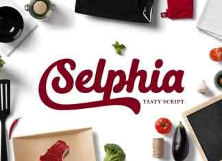 Selphia Script Font