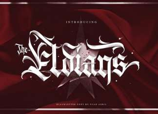 The Eldians Blackletter Font