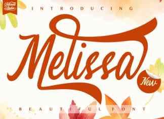 Melissa Script Font