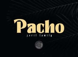 Pacho Serif Font