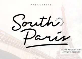 South Paris Handwritten Font