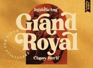 Grand Royal Serif Font