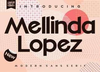 Mellinda Lopez Sans Serif Font