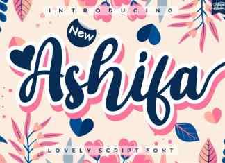 Ashifa Script Font