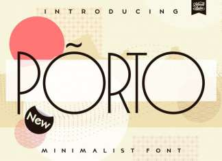 Porto Display Font
