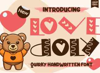 Love Doly Display Font