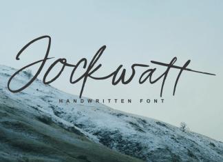 Jockwatt Script Font