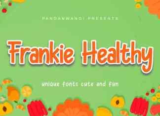Frankie Healthy Font