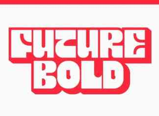 Future Bold Display Font