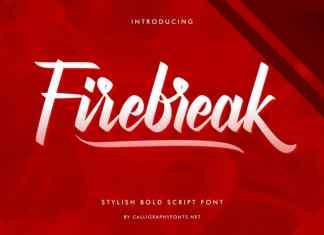 Firebreak Calligraphy Font