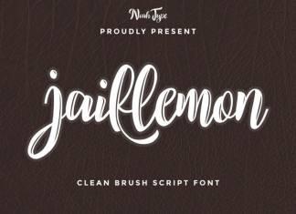 Jaillemon Brush Font