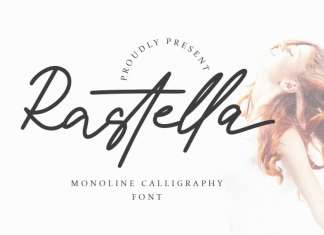 Rastella Calligraphy Font