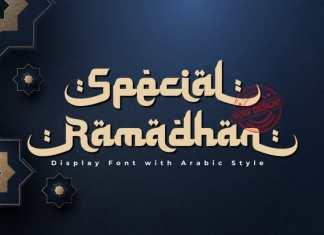 Special Ramadhan Display Font