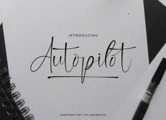 Autopilot Script Font