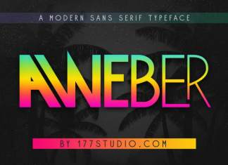 Aweber - Modern Sans Serif Font