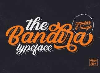 Bandira Script Font