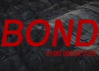 Bond Sans Serif Font