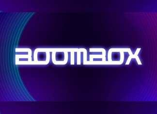 Boombox Display Font