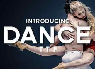 Dance Sans Serif Font